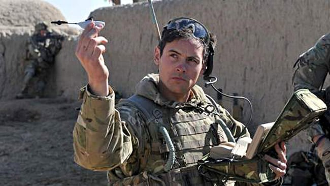 These tiny little helicopters are actually surveillance drones that are helping out the UK's troops in Afghanistan. Picture: Sky