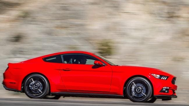 Ford's Mustang has been a huge hit. Picture: Supplied