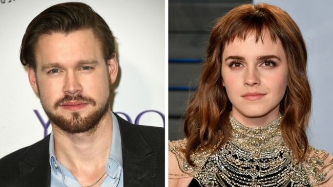 Happy new relationship, Chord Overstreet and Emma Watson! Photo: Getty