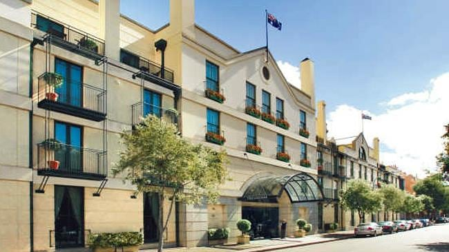 The hotel offers fantastic views of Sydney Harbour and its surrounds.
