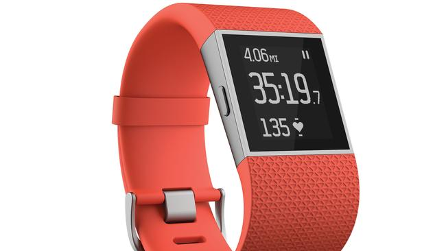 Fitness and phone ... Fitbit's Surge activity tracker also delivers phone alerts.