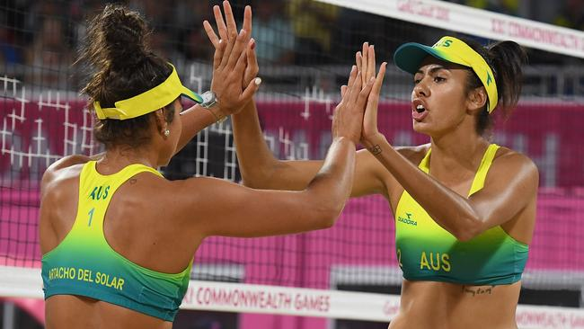 The two won silver at the Commonwealth Games. Pic: Matt Roberts/Getty Images