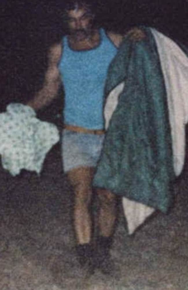 Police found hundreds of items in Ivan Milat's family's homes including sleeping bags and other trophies from his murder victims.