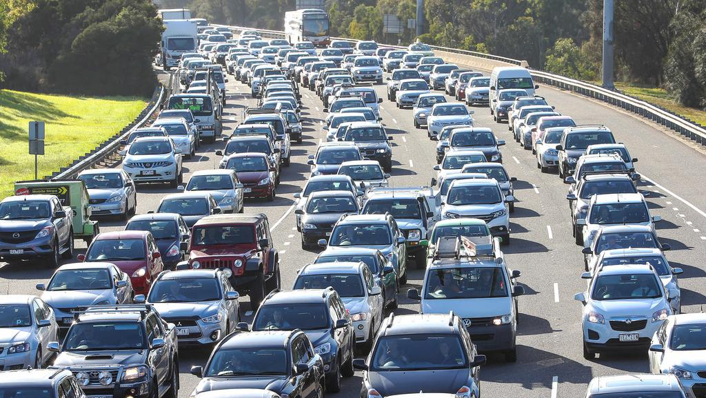 Melbourne Traffic Congestion Peak Traffic Now Lasts 3 75