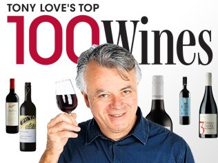 Art work for Tony Love's Top 100 Wines interactives