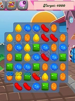 A typical Candy Crush board resembles games such as Bejeweled and Tetris. Picture: Supplied