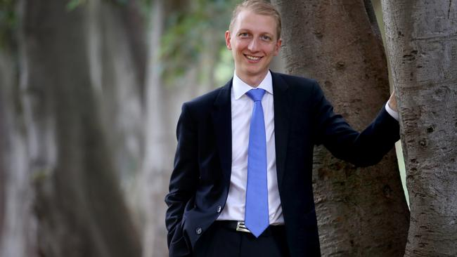 "Liberal Senator James Paterson's new bill would mean anyone with a ""conscientious"" objection could refuse service to a gay couple's wedding. Picture: David Geraghty."
