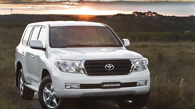 Still in demand ... SUVs like the Toyota Landcruiser.