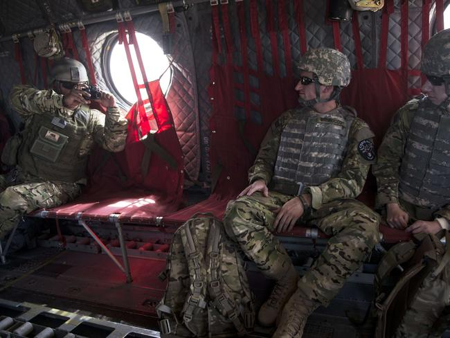 Long war...Washington is winding down its 32,000 troop deployment in Afghanistan after nearly 13 years of war, with US President Barack Obama announcing this week that all US forces will leave by the end of 2016. Picture: AFP