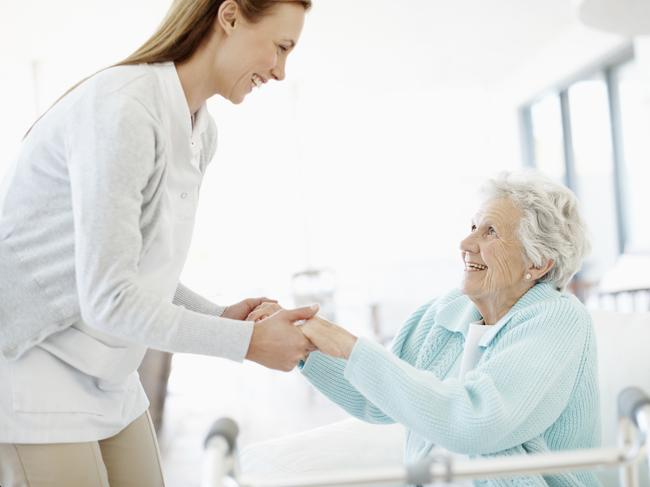 There are several levels of care available, and government financial support for it.