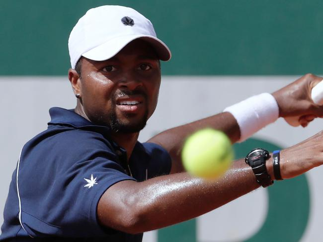 Kyrgios will face American world No 50 Donald Young tonight. Picture: AFP.