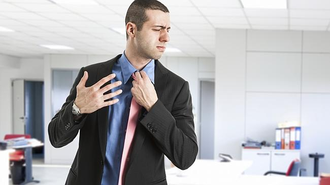 Learn how to overcome awkwardness at work, and don't stress about it. Picture: Thinkstock