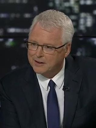 Lateline host Tony Jones wouldn't let go of issues last night.