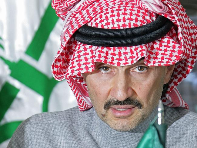 "Not happy ... Saudi Prince Alwaleed bin Talal has in the past accused ""Forbes"" of underst"
