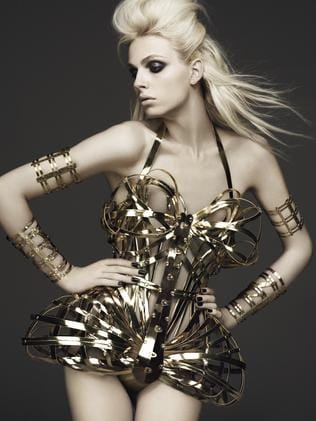 Melbourne's Andreja Pejic (formerly Andrej) is one of the models who will appear in the Jean Paul Gautier exhibition.