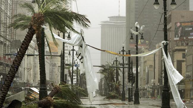 An expert predicted Hurricane Katrina, but it was ignored. Picture: Mario Tama/Getty Images/AFP