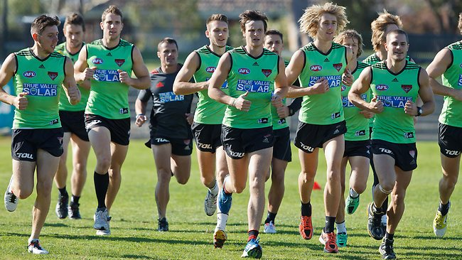 Essendon training