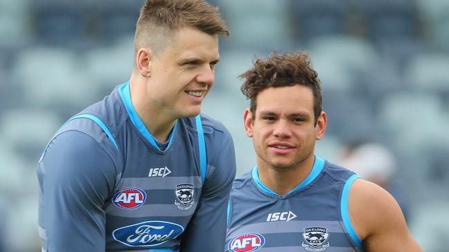 Hamish McIntosh and Steven Motlop are back for Geelong.