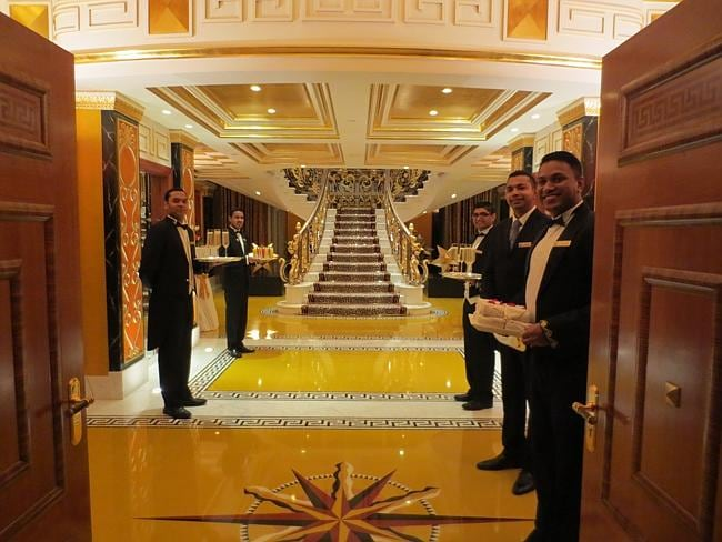 Captivating The Entrance To The Suite. Picture: Kate Schneider