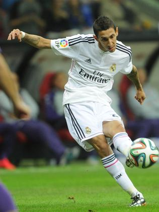 Real Madrid's Angel Di Maria from Argentina.