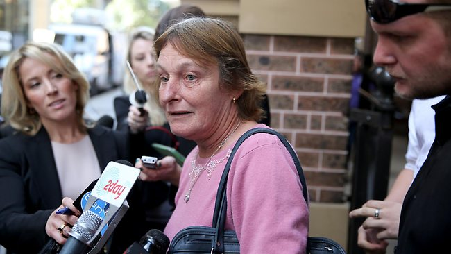 Kiesha's grandmother Liz Weippeart outside court afterKiesha's mother Kristi Anne Abrahams was sentenced to 16 years none parole in the Supreme court for her daughter's murder. Picture: John Grainger