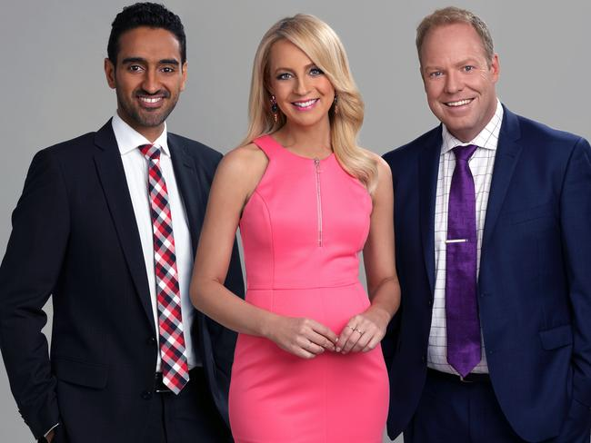 New face ... Waleed Aly will replace Rove McManus as co-host of The Project. Picture: Channel Ten