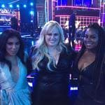 """MTV Awards with my Pitches X...@chrissiefit @esterdean."" Picture: Rebel Wilson / Instagram"