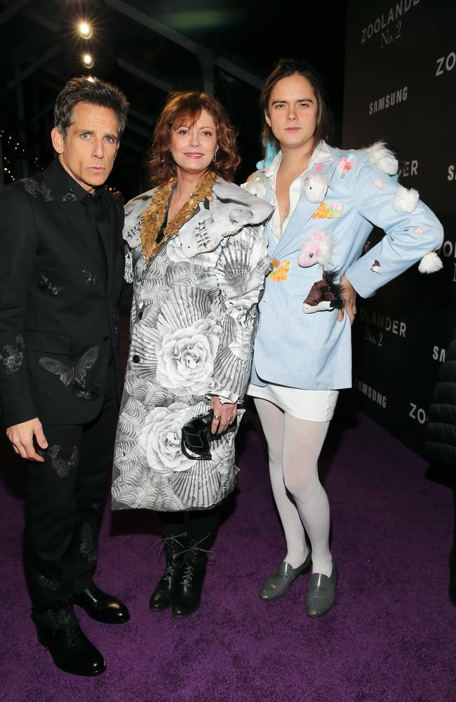 Ben Stiller, Sarandon and Robbins serving varying degrees of Blue Steel. Picture: Getty