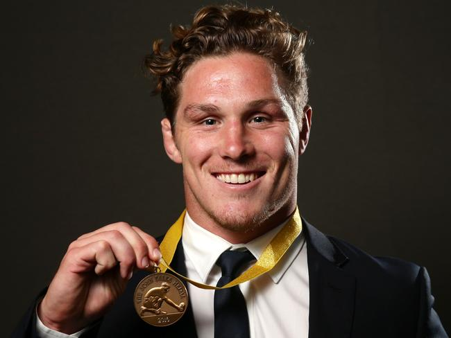 Consistent Hooper claims Eales medal