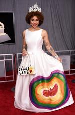 Singer Joy Villa attends the 60th Annual GRAMMY Awards at Madison Square Garden on January 28, 2018 in New York City. Picture: Dimitrios Kambouris/Getty Images for NARAS