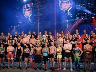 Photo: Supplied. Australian Ninja Warrior contestants.