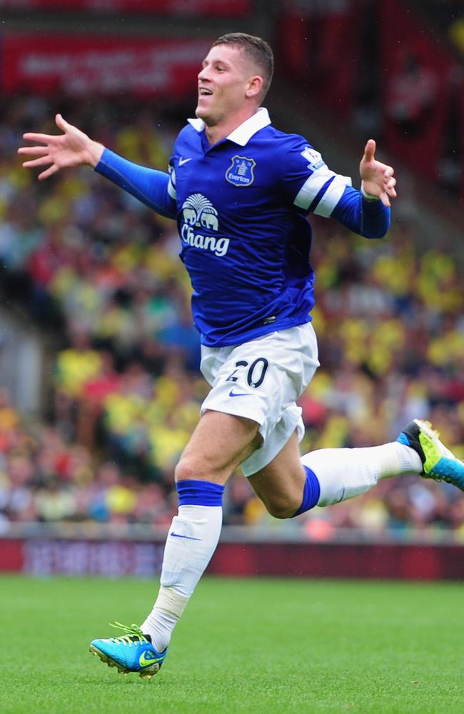 Ross Barkley of Everton - a highly valuable commodity in the EPL.