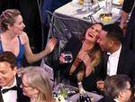 Chrissy Teigen and John Legend during The 23rd Annual Screen Actors Guild Awards at The Shrine Auditorium on January 29, 2017 in Los Angeles, California. Picture: Getty