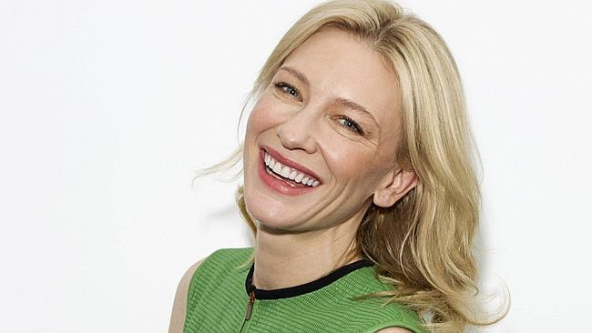 Our Cate Blanchett is still beautiful in her 40s.