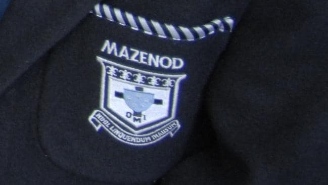 Mazenod College wrote to parents to inform them the teacher had been stood down.