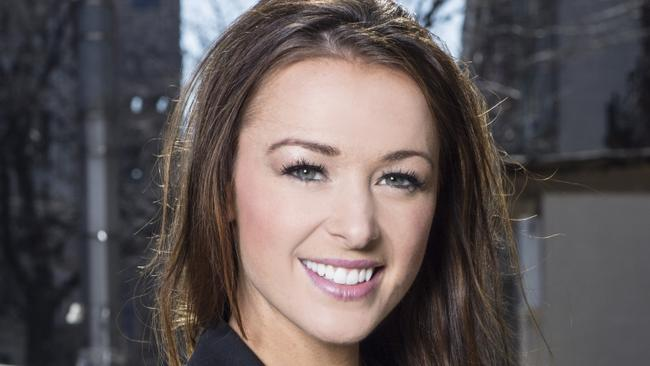 "Jamie Otis is hoping to meet a ""serious"" guy on the show. Photo: FYI Television."