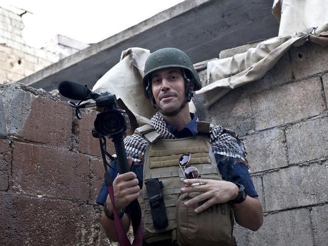 James Foley pictured in Syria.