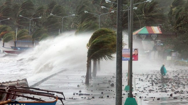 PHILIPINES-WEATHER-TYPHOON
