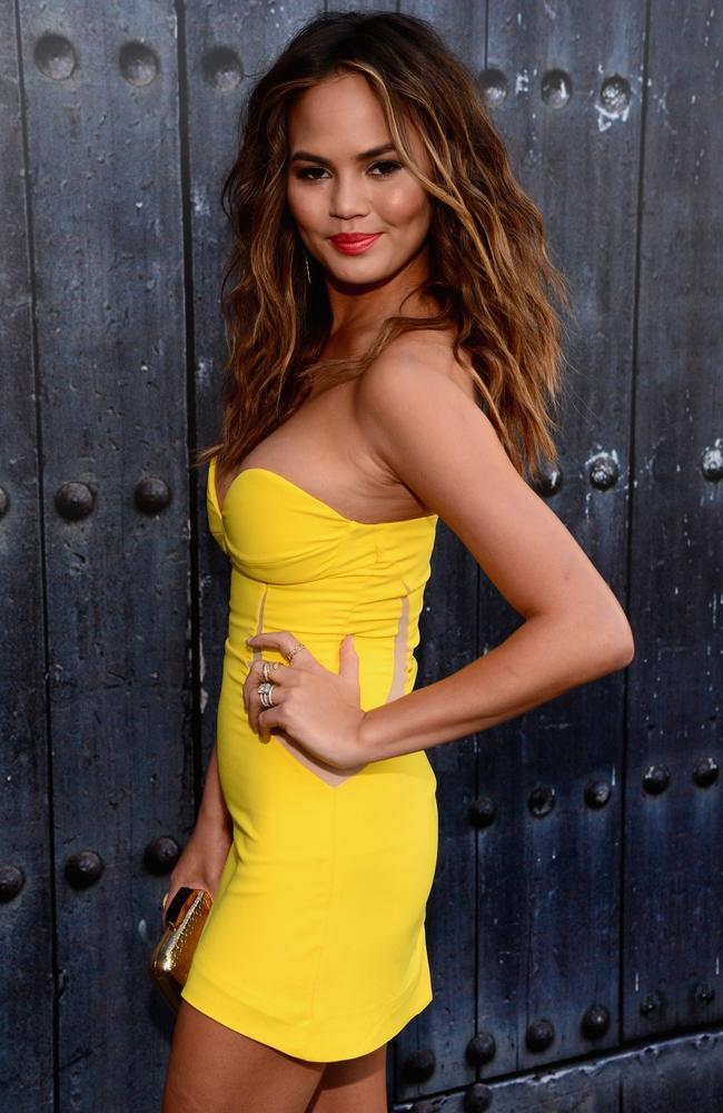 Last laugh ... Supermodel Chrissy Teigen's career is absolutely soaring.