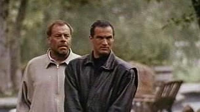 Steven Seagal back in the day, when it was Hard to Kill his popularity.