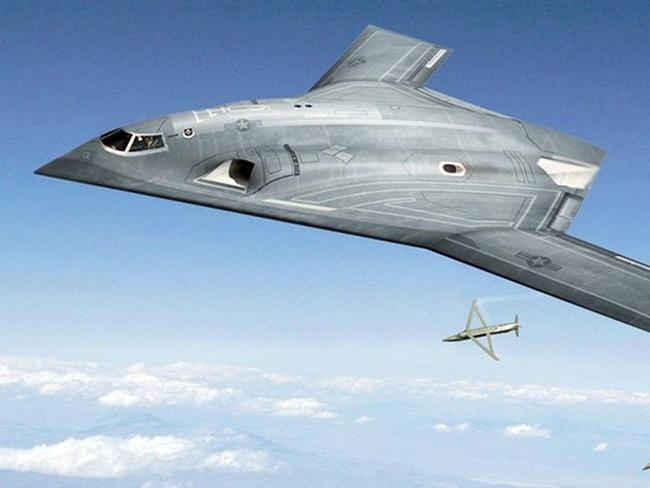 Already flying? Concept art for Lockheed Martin's conceptual B-3 stealth bomber. Source: Lockheed