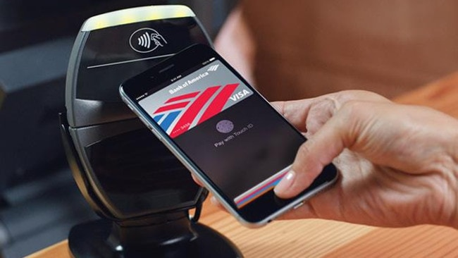 Pay later ... Apple has put NFC into the iPhone 6 but we'll need to wait until the system is launched in Australia to judge whether it proves to be a major payment system.