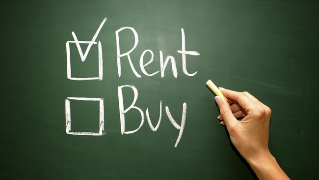 Young Aussies who choose to be tenants rather than strive to buy their dream home are predicted to drive the rental market this year.