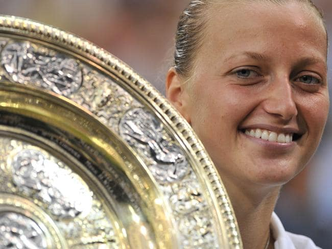 Kvitova stormed to her second Wimbledon title in the shortest women's final at the All England Club since 1983