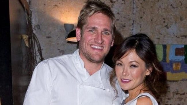 Curtis Stone and his stunning fiance Lindsay Price.