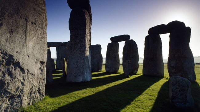 Stonehenge at sunrise - let the shadow sex begin. Photo: English Heritage
