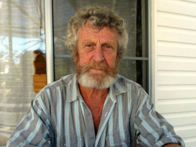 Tom Sargent, father of missing person Sean Sargent, pictured in 2005.