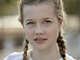Sunday Telegraph Only Australian actress Angourie Rice, judge of Tropfest Jnr,