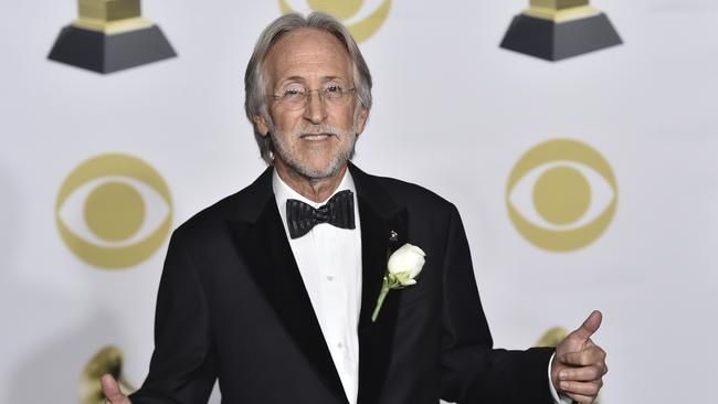 Neil Portnow addressed the gender disparity after the ceremony. Picture: AP