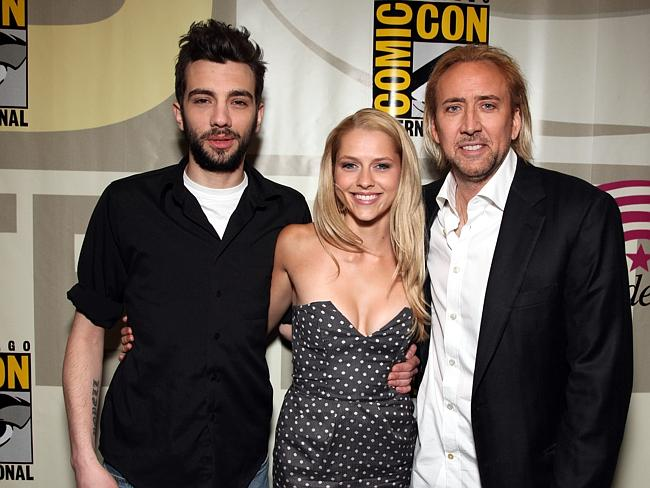 """Nicolas Cage hung out with Australia's own Teresa Palmer to promote """"The Sorcerer's Appre"""